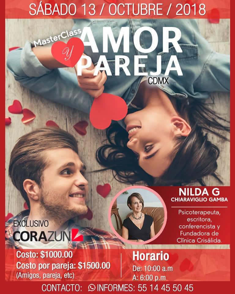 Masterclass Amor y Pareja CDMX