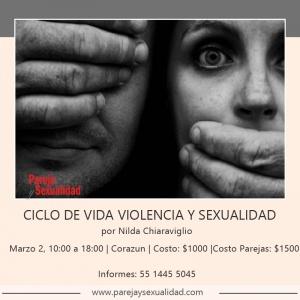 Ciclo de Vida, Violencia y Sexualidad. Diplomado Vida, Relaciones y Sexualidad por Nilda Chiaraviglio